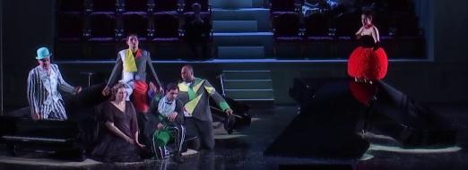 Ariadne auf Naxos, producció de Sven-Eric Bechtolf Viena 2017