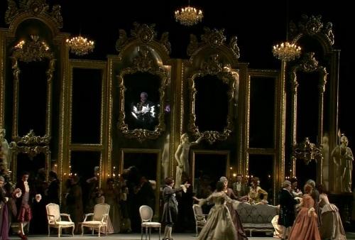 Andrea Chénierm, acte 1er producció de Mario Martone. Teatro alla Scala de Milà