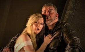 Lucy Crowe (Gilda) i Dimitri Platanias (Rigoletto) ROH 2018i