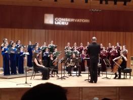 Cor Vivaldi Conservatori del Liceu 20 d egener de 2018. Fotografia IFL