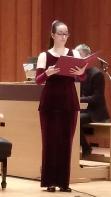 Núria Prats-Cor Vivaldi 20 de gener de 2018 Conservatori del Liceu. Fotografia IFL