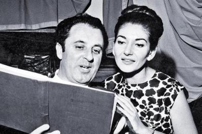 Carlo Bergonzi i Maria Callas