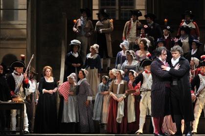 Producció de David McVicar d' Andrea Chénier®A Bofill Gran Teatre del Liceu
