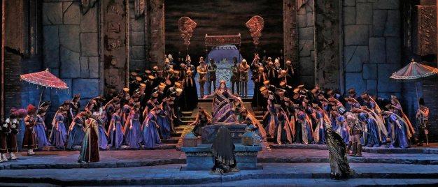 Semiramide(Rossini) Producció de John Copley MET 2018 Fotografia Ken Howard