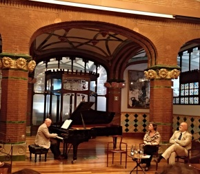 Albert Guinovart presentació del CD Nocturne al Palau de la Música Catalana, 18 d ejuny de 2018 Foto IFL