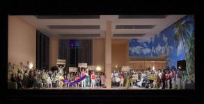 LES TROYENS A CARTHAGE - Mise en scene et scenographie : Dmitri TCHERNIAKOV l Opera Bastille - Photo : Vincent PONTET